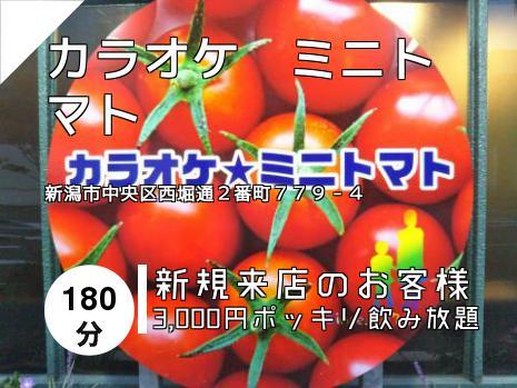 カラオケ ミニトマト