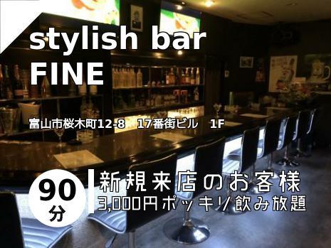 stylish bar FINE